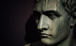 Napoleon Bonaparte, British museum, London. Royalty Free Stock Photo