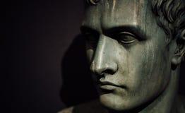Napoleon Bonaparte brittiskt museum, London Royaltyfri Foto