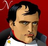 Napoleon Bonaparte Emperor de França Ilustração Stock