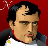 Napoleon Bonaparte Emperor of France Stock Photography
