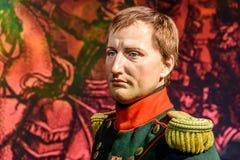 Napoleon Bonaparte Figurine At Madame Tussauds Wax Museum Royalty Free Stock Photography