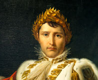 Napoleon Bonaparte - ritratto da Francois Gerard Fotografia Stock