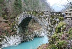 Napoleon Bridge en Slovénie Photos libres de droits