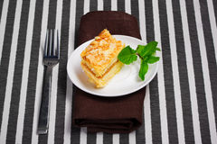 Napoleon cake Royalty Free Stock Image