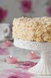 Napoleon cake Stock Images