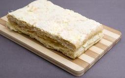 Napoleon ciasto Zdjęcia Royalty Free