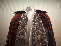 Napoleon coronation cape Royalty Free Stock Image