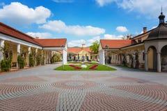 Napoleon Health Spa en Piestany Fotos de archivo