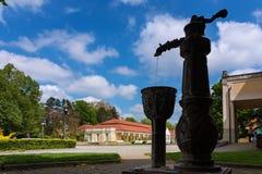 Napoleon Health Spa in Piestany Immagine Stock Libera da Diritti