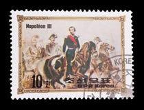 Napoleon III Stockbild