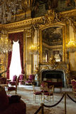 Napoleon III Apartment, Louvre Paris. Napoleon the 3rd Apartement, Louvre Paris Royalty Free Stock Photography