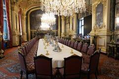 Napoleon III Apartments Dining Room Stock Image