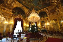 The Napoleon III Apartments are an exceptional record of Second Empire decorative art. Stock Images
