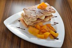 Napoleon Mango Cake foto de stock royalty free
