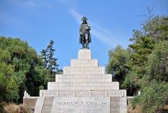 Napoleon-Monument in Korsika stockfotografie