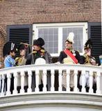 Napoleon på striden för den nederländska 1813en Royaltyfri Fotografi