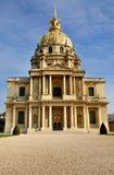 napoleon paris tomb Royaltyfri Fotografi