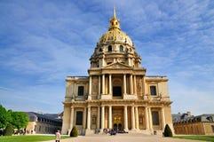 napoleon paris tomb Arkivbilder