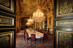 Napoleon's Dinning room Royalty Free Stock Photos