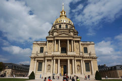 Napoleon's Domed Tomb in Paris Stock Photos