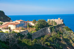 Napoleon's house in portoferraio, Isle of Elba. stock photography
