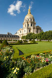 Napoleon's tomb at Les Invalides. NaLes Invalides is a complex of museums and tomb in Paris, the military history of France, and the tomb of Napoleon Bonaparte Stock Photography