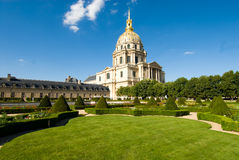 Napoleon's tomb at Les Invalides. Les Invalides is a complex of museum and tomb in Paris,Napoleon's remains bury in here Stock Photos