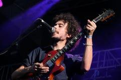 Napoleon Solo-de band presteert bij Dcode-Festival. Royalty-vrije Stock Foto's