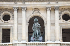 Napoleon statue royalty free stock photos