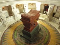 Napoleon tomb royalty free stock images
