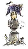 Napoleon. Vinnare. stock illustrationer