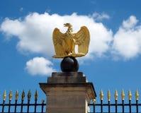 Napoleonian eagle stock photo