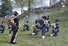 Napoleonic battle commemoration Royalty Free Stock Images