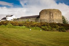 Napoleonic fort. Greencastle. Inishowen. Donegal. Ireland. The Napoleonic fort. Greencastle. Inishowen peninsula. county Donegal. Ireland Royalty Free Stock Photo