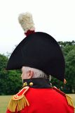 Napoleonic general in hat Stock Images