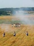 Napoleonic soldier Stock Image