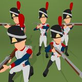 Napoleonic soldier Royalty Free Stock Photos
