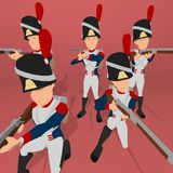 Napoleonic soldier Stock Photos