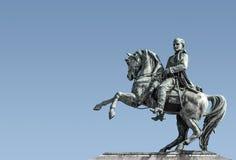 napoleonu posąg france Rouen Obrazy Royalty Free