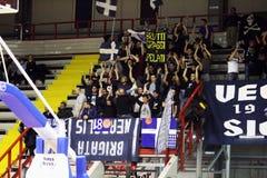 Napoli basket fans Royalty Free Stock Photos