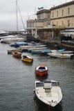 Napoli boats Stock Image