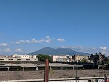 Napoli City Center royalty free stock photography
