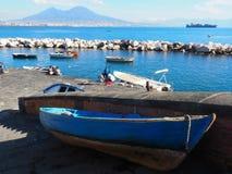 Napoli coast stock photo