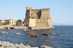 Napoli d'ovo de Castel Photographie stock