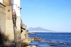 Napoli da Marechiaro Immagine Stock Libera da Diritti