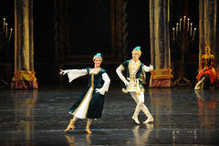 Napoli dance-The prince adult ceremony-ballet Swan Lake Stock Photography
