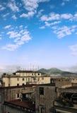 Napoli e Vesuvio Fotografia Stock Libera da Diritti