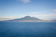 Napoli ed il Vesuvio immagine stock libera da diritti