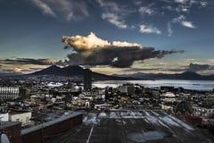 Napoli för FN-gabbianosu Arkivfoton