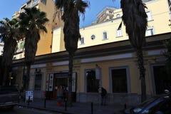 Napoli - Funicolare Centrale in Corso Vittorio Emanuele